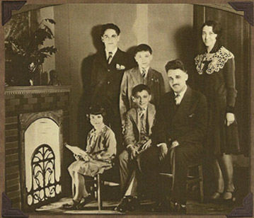 The Lucchesi Family 1930